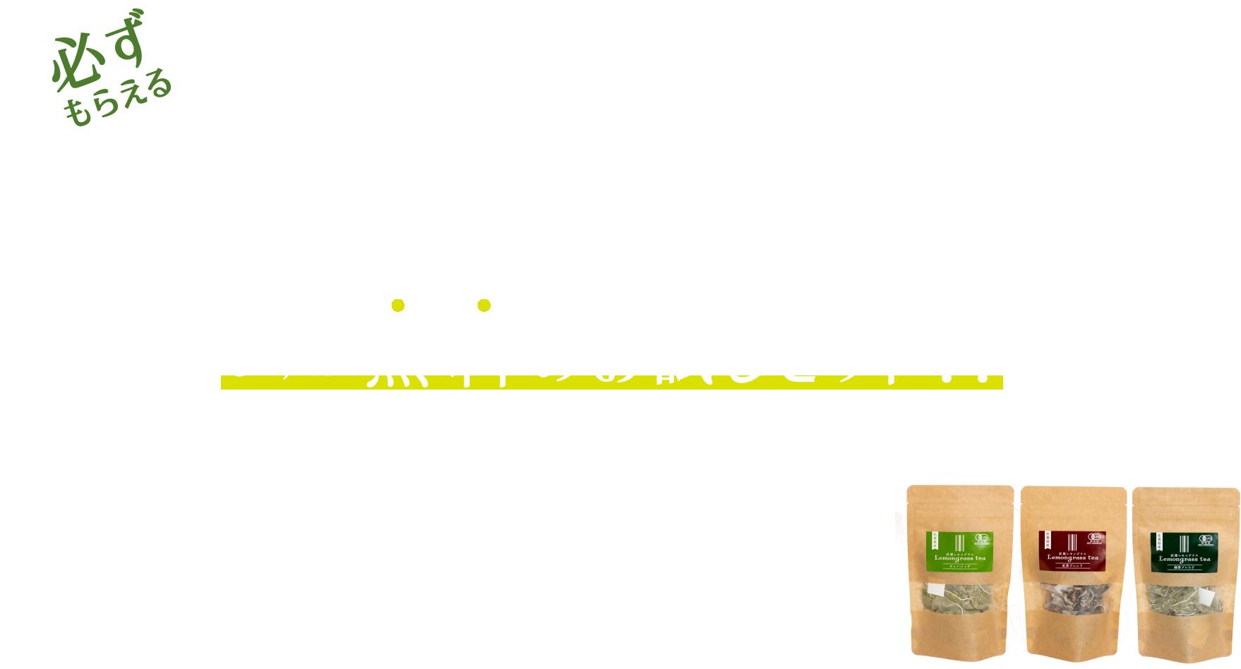 武雄育ちのレモングラス